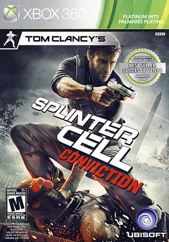 Tom Clancy s Splinter Cell - Conviction (Bilingual Cover) (XBOX360) XBOX360 Game