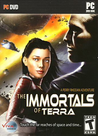 The Immortals of Terra - A Perry Rhodan Adventure (Limit 1 copy per client) (PC) PC Game