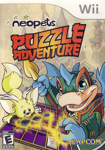 Neopets - Puzzle Adventure (Bilingual Cover) (NINTENDO WII) NINTENDO WII Game