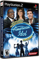Karaoke Revolution Presents: American Idol Encore (PLAYSTATION2)