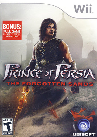 Prince of Persia - The Forgotten Sands (NINTENDO WII) NINTENDO WII Game