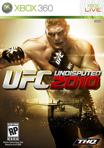 UFC Undisputed 2010 (XBOX360) XBOX360 Game
