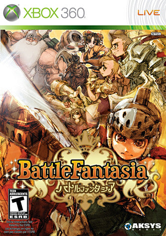 Battle Fantasia (Bilingual Cover) (XBOX360) XBOX360 Game