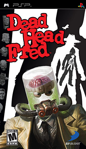 Dead Head Fred (PSP) PSP Game