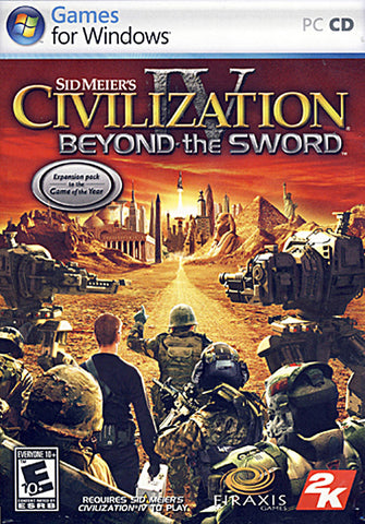 Sid Meier's Civilization IV - Beyond the Sword (Limit 1 copy per client) (PC) PC Game