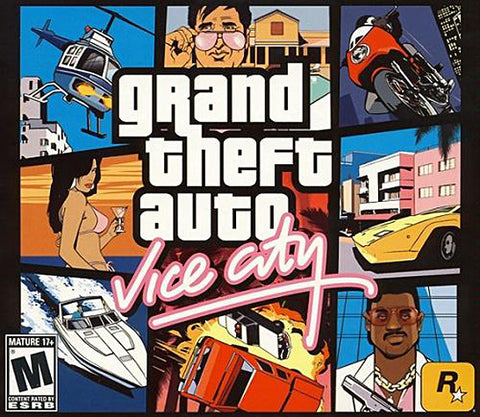 Grand Theft Auto: Vice City (Jewel Case) (PC) PC Game