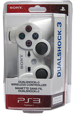 PlayStation 3 Dualshock 3 Wireless Controller - Classic White (Accessory) (PLAYSTATION3)