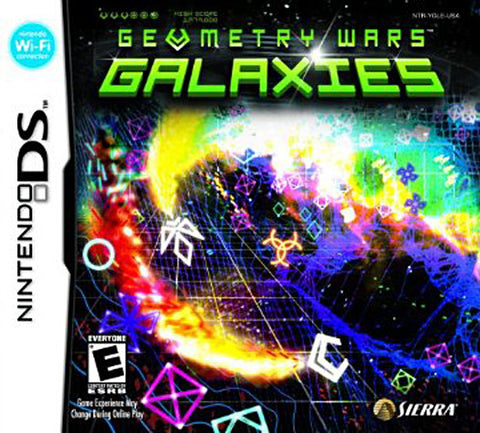Geometry Wars - Galaxies (DS) DS Game