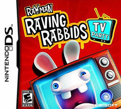 Rayman Raving Rabbids - TV Party (DS)