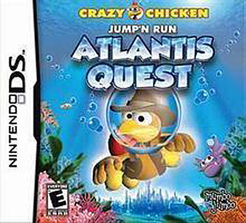 Crazy Chicken - Atlantis Quest (Bilingual Cover) (DS) DS Game
