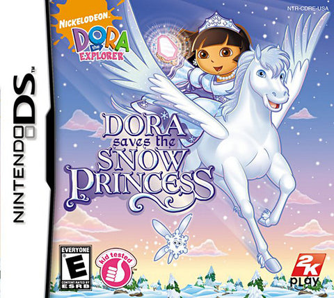 Dora the Explorer - Dora Saves the Snow Princess (DS) DS Game