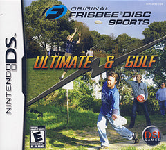 Original Frisbee Disc Sports - Ultimate & Golf (Bilingual Cover) (DS)