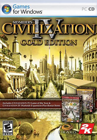 Sid Meier's Civilization IV - Gold Edition (PC) PC Game