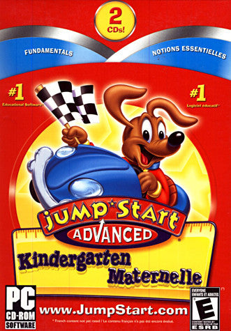 Jumpstart Advanced - Kindergarten (PC) PC Game