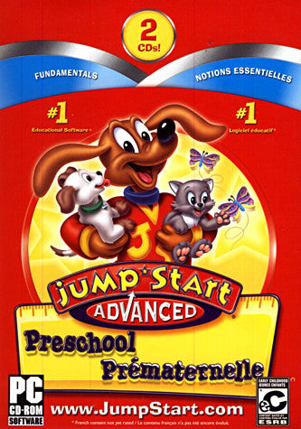 Jumpstart Advanced Preschool (PC) PC Game
