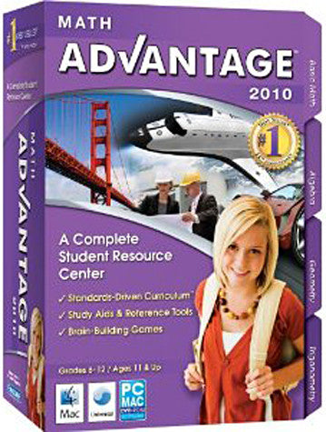 Math Advantage 2010 (PC) PC Game