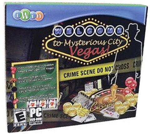 Mysterious City Vegas (Jewel Case) (PC) PC Game