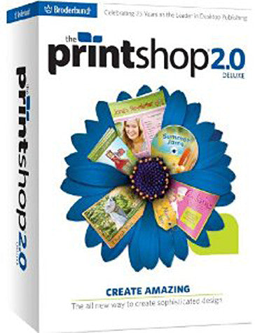 The Print Shop 2.0 Deluxe (PC) PC Game