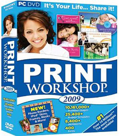 Print Workshop 2009 (PC) PC Game