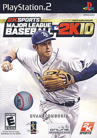 Major League Baseball 2K10 (PLAYSTATION2) PLAYSTATION2 Game