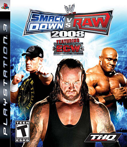 WWE Smackdown vs. Raw 2008 (PLAYSTATION3) PLAYSTATION3 Game