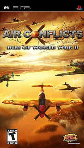 Air Conflicts - Aces of World War 2 (PSP) PSP Game