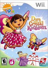 Dora the Explorer - Dora Saves the Crystal Kingdom (NINTENDO WII)