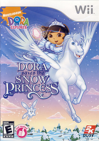 Dora the Explorer - Dora Saves the Snow Princess (Bilingual Cover) (NINTENDO WII) NINTENDO WII Game