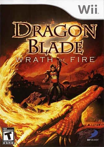 Dragon Blade - Wrath Of Fire (NINTENDO WII) NINTENDO WII Game