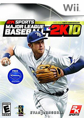 Major League Baseball 2K10 (NINTENDO WII) NINTENDO WII Game
