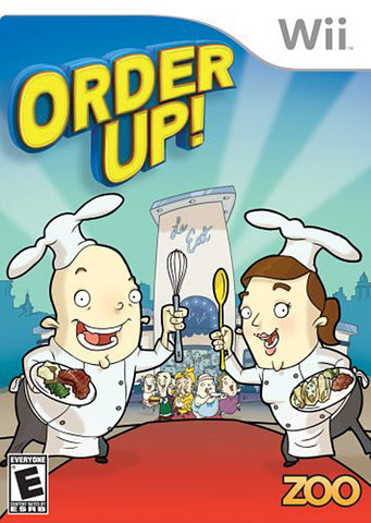 Order Up! (Bilingual Cover) (NINTENDO WII) NINTENDO WII Game