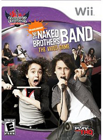 Rock University Presents - The Naked Brothers Band The Video Game (Bilingual Cover) (NINTENDO WII) NINTENDO WII Game