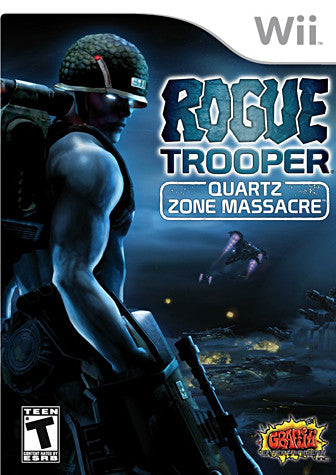 Rogue Trooper - Quartz Zone Massacre (NINTENDO WII) NINTENDO WII Game