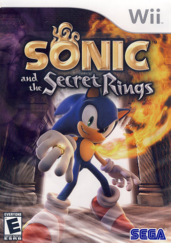 Sonic and the Secret Rings (NINTENDO WII) NINTENDO WII Game