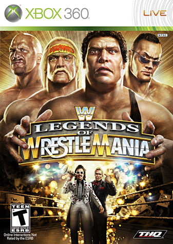 WWE Legends of WrestleMania (XBOX360) XBOX360 Game