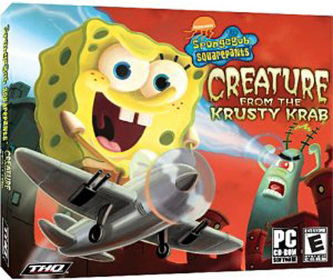 Spongebob Creature From The Krusty Krab (Jewel Case) (PC) PC Game