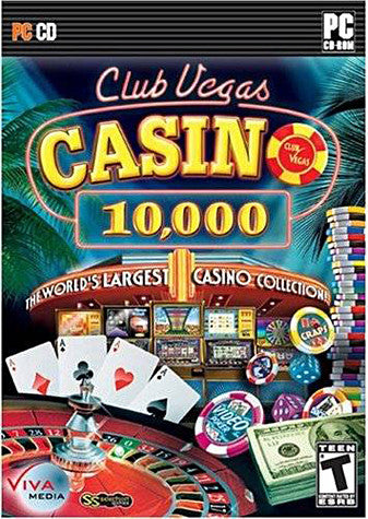 Club Vegas Casino 10,000 (PC) PC Game
