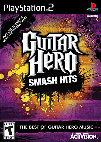 Guitar Hero - Smash Hits (PLAYSTATION2) PLAYSTATION2 Game