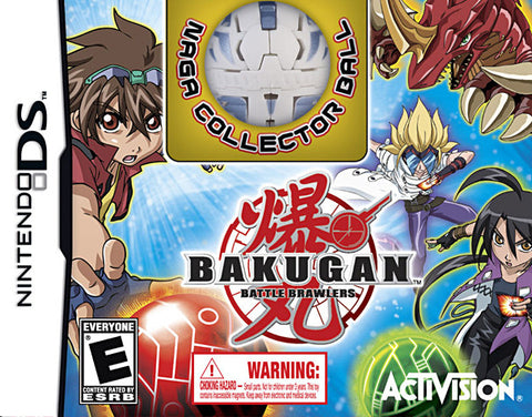 Bakugan Battle Brawlers Collector's Edition with NAGA Collector Bakugan Ball (DS) DS Game