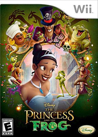 The Princess and the Frog (NINTENDO WII) NINTENDO WII Game