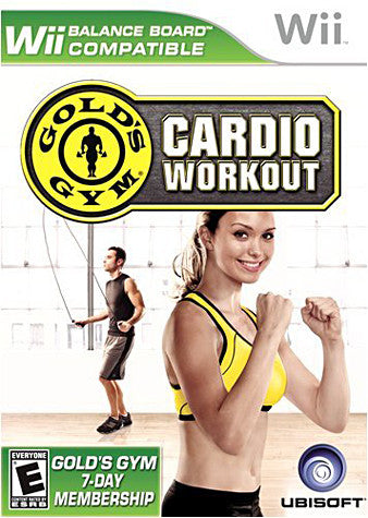Gold s Gym Cardio Workout (Don`t add in inventory) (NINTENDO WII) NINTENDO WII Game