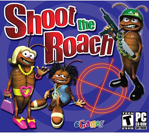 Shoot the Roach (Jewel Case) (PC) PC Game