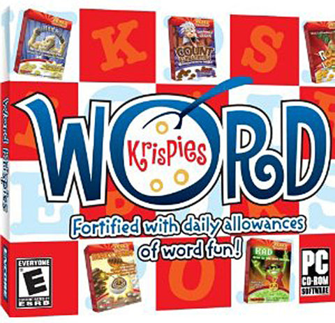 Word Krispies (Jewel Case) (PC) PC Game