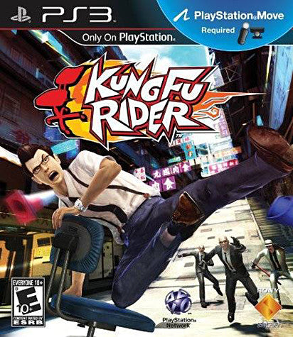 Kung Fu Rider (Playstation Move) (PLAYSTATION3) PLAYSTATION3 Game