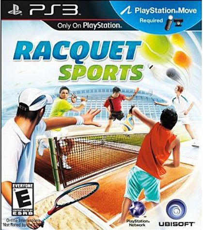 Racquet Sports (Playstation Move) (PLAYSTATION3) PLAYSTATION3 Game