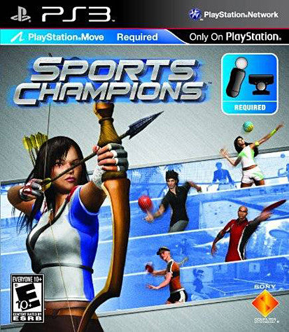 Sports Champions (Playstation Move) (Bilingual Cover) (PLAYSTATION3) PLAYSTATION3 Game