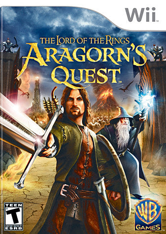 Lord of the Rings - Aragorn s Quest (NINTENDO WII) NINTENDO WII Game