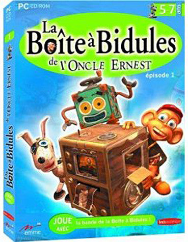 La Boite A Bidules De L oncle Ernest (French Version Only) (PC) PC Game