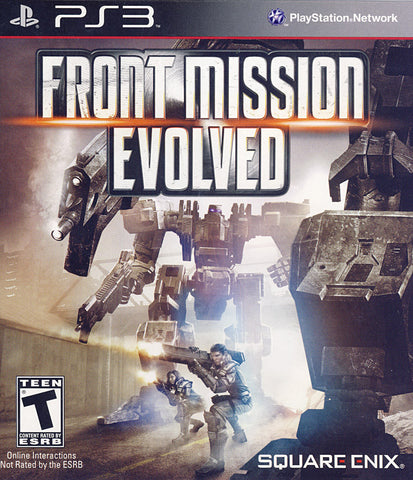 Front Mission Evolved (PLAYSTATION3) PLAYSTATION3 Game