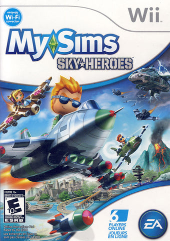 MySims Sky Heroes (Bilingual Cover) (NINTENDO WII) NINTENDO WII Game